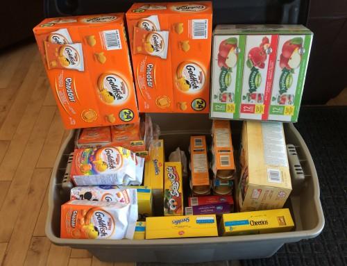 School Snack Donations